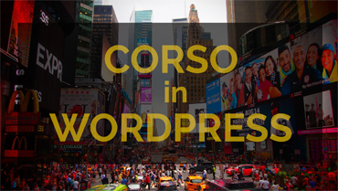 CORSO IN WORDPRESS