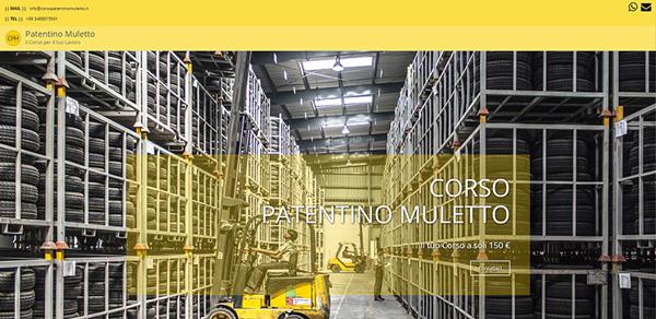 Patentino Muletto